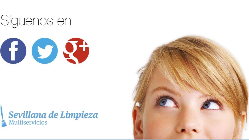 Empresa Limpieza Sevilla Limpieza de Garajes limpieza de comunidades. Síguenos en las Redes Sociales