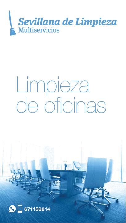 LIMPIEZA DE OFICINAS SEVILLA