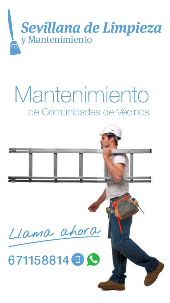 MANTENIMIENTO DE COMUNIDADES DE VECINOS
