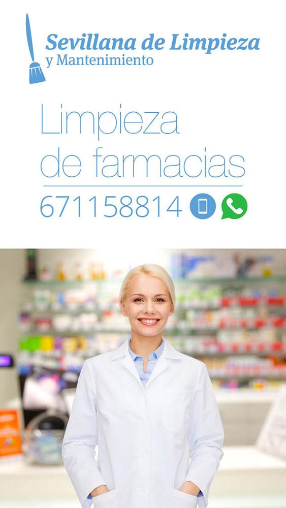 LIMPIEZA DE FARMACIAS EN SEVILLA