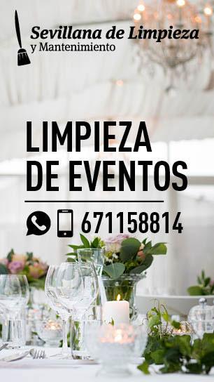 Limpieza de Eventos en Sevilla